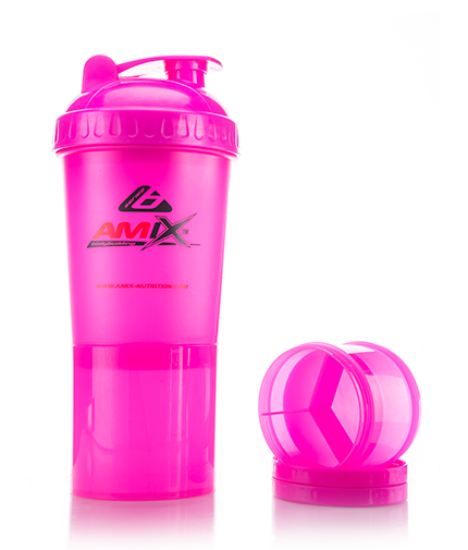 AMIX Shaker Monster Bottle /Pink/