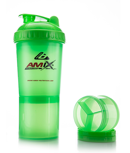 AMIX Shaker Monster Bottle /Green/