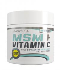 BIOTECH USA MSM with Vitamin C 150g.