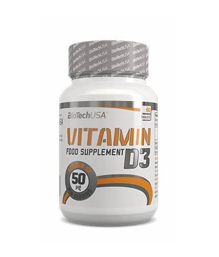 biotech-usa Vitamin D3 / 60 Tabs.