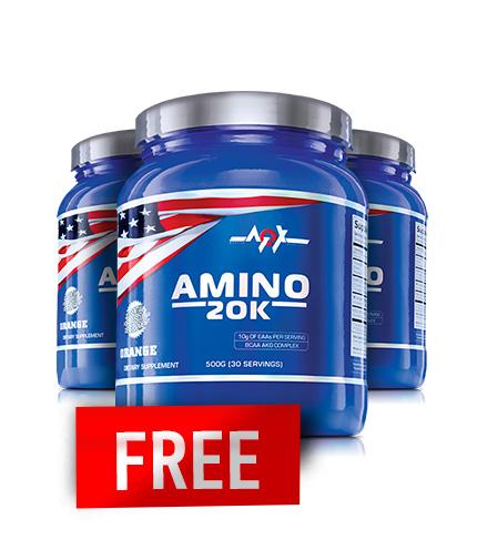 PROMO STACK MEX Amino 20k 500g / 2+1 FREE
