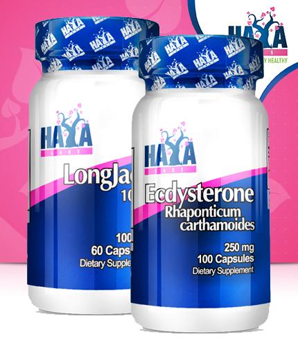 PROMO STACK Haya Labs Ecdysterone / Haya Labs LongJack