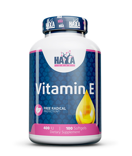 HAYA LABS Vitamin E 400 IU / 100 Softgels