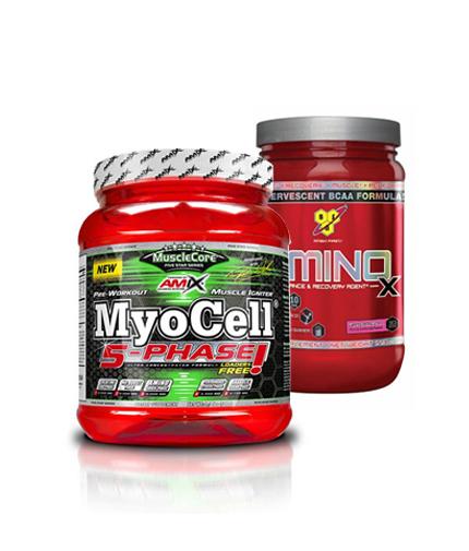 PROMO STACK Amix Myocell / BSN Amino-X