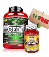 PROMO STACK Amix CFM Nitro Protein / Amix Inosine FREE!