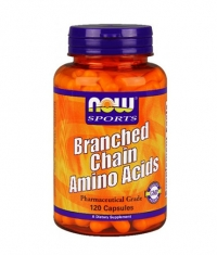 NOW Branched Chain Amino Acid /BCAA/ 120 Caps.