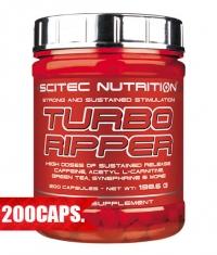 SCITEC Turbo Ripper 200 Caps.