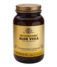 SOLGAR Aloe Vera, F.P. 100 Caps.