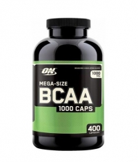 OPTIMUM NUTRITION BCAA Mega-Size 1000mg. / 400 Caps.