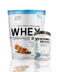PROMO STACK Everbuild Whey Build 5 Lbs. / SCIVATION Xtend Intra-Workout Catalyst! /New Formula/ 30 Servs.