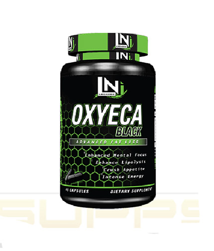 LECHEEK NUTRITION OxyEca Black / 45caps.