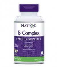NATROL B-Complex /Fast Dissolve/ 90 Tabs.