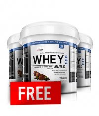 PROMO STACK Everbuild Whey Build 10 Lbs. 2+1 FREE