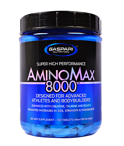 gaspari Aminomax 8000 / 350 Tabs.