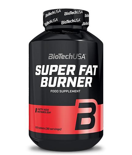 biotech-usa Super Fat Burners 120 Tabs.