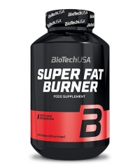 BIOTECH USA Super Fat Burners 120 Tabs.