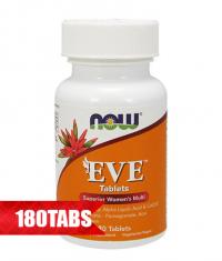 NOW Eve Women's Multiple Vitamin 180 Tabs.