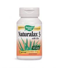 NATURES WAY Naturalax 3 With Aloe 100 Vcaps.