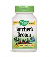 NATURES WAY Butcher's Broom Root 100 Caps.