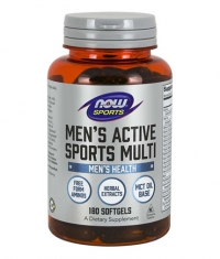 NOW Mens Extreme Sports Multivitamin / 180 softgels