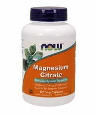 NOW Magnesium Citrate / 120 vcaps