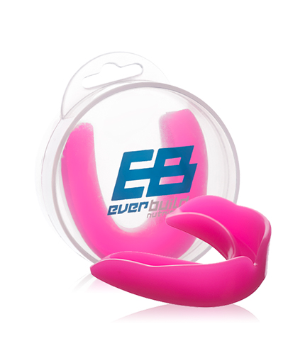 everbuild Single mouth guard / pink
