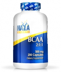 HAYA LABS Sports BCAA 2:1:1 500mg / 200 caps