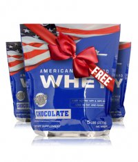 PROMO STACK MEX American Standard Whey 5 Lbs. 2+1 FREE