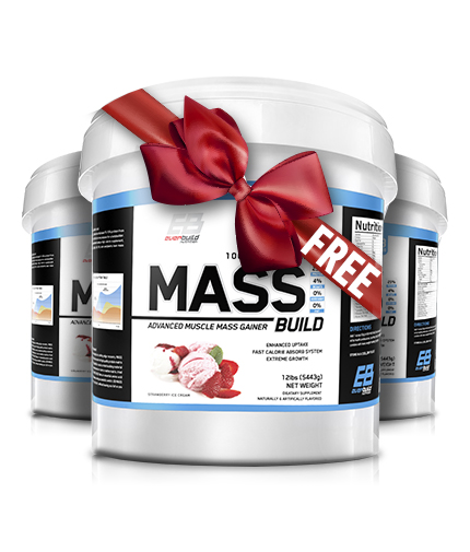 PROMO STACK EVERBUILD Mass Build 12lb 2+1 FREE