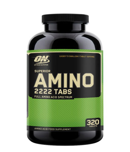 optimum-nutrition Superior Amino 2222 / 320 Tabs.