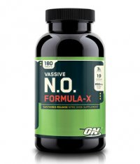 OPTIMUM NUTRITION Vassive-NO Formula-X 180Tabs
