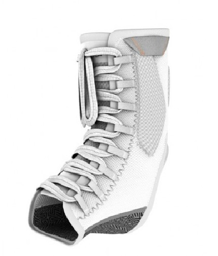 shock-doctor Ultra Gel Lace Ankle Support / WHITE