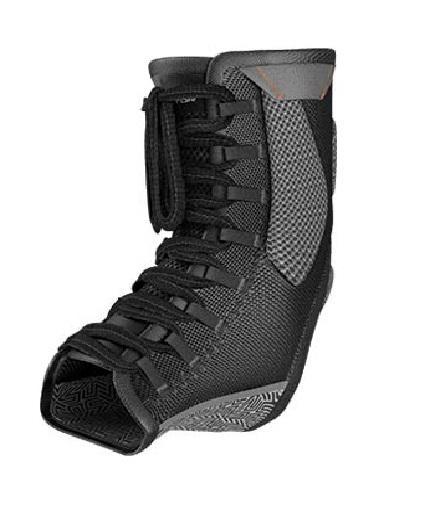 shock-doctor Ultra Gel Lace Ankle Support / BLACK