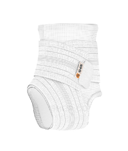 shock-doctor Ankle Sleeve / Compression Wrap Support / WHITE