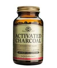 SOLGAR ACTIVATED CHARCOAL / 100 vcaps