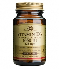 SOLGAR Vitamin D-3 1000 IU / 90 softgels